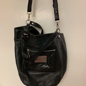 Coach tote with shoulder strap